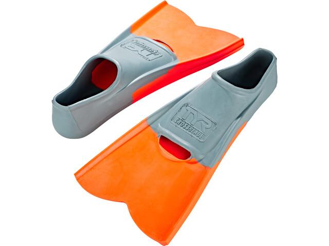 TYR Crossblade Pinne, grigio/arancione